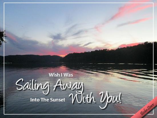 Sailing Away With You.