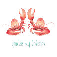 Home : Love : For Your Sweetheart - You're My Lobster!