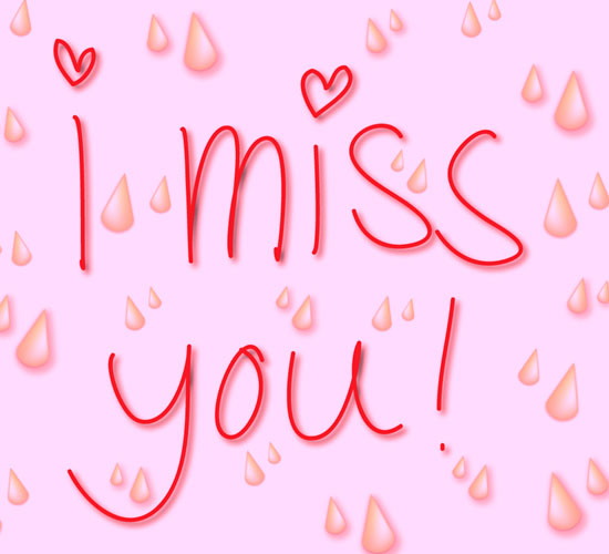 I Keep Missing You!
