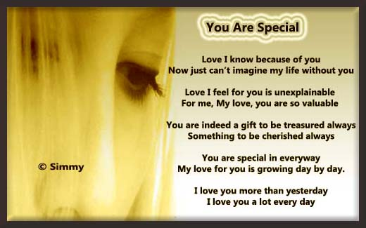 You Are Special In Every Way.