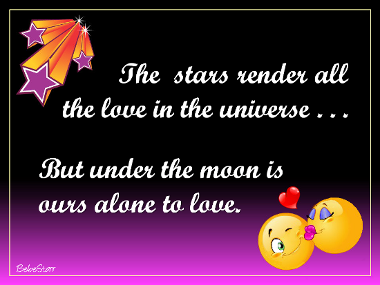 The Stars Render Love.