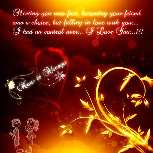 Love You Always My Sweetheart!