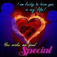 Home : Love : You are Special - I'm Lucky To Have You In My Life.