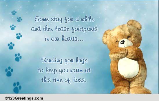 loss of a faithful friend    free loss of pet ecards