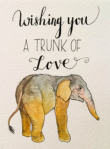 Wishing You A Trunk Of Love.