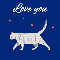 Home : Pets : Love - Love You Cats Greeting Cards...