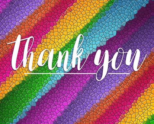 Image result for Colorful Thank You