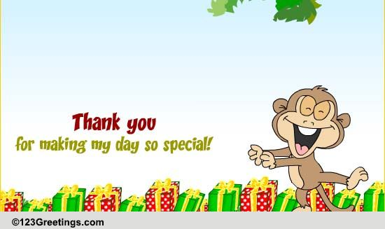 Thank You So Much Free Birthday eCards Greeting Cards – Thanks for Birthday Card