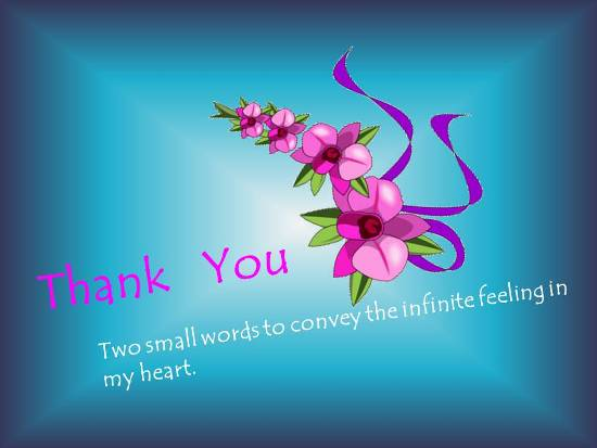Convey Your Thanks In A Beautiful Way.