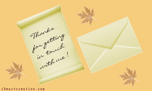 Letter Of Thanks.