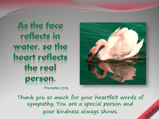 The Heart Reflects The Real Person.
