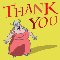 Opera Character Thank You Card!