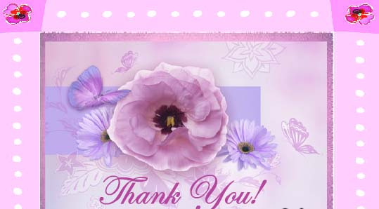 Special Thanks For A Special Person! Free For Everyone