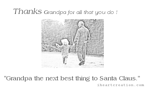 Thanks Granddad.