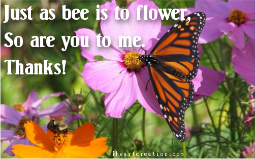 Flower To Bee...