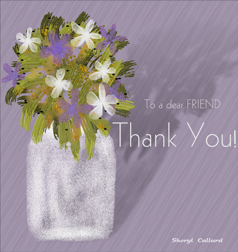 Thank You Dear Friend. Free Friends eCards, Greeting Cards | 123 Greetings