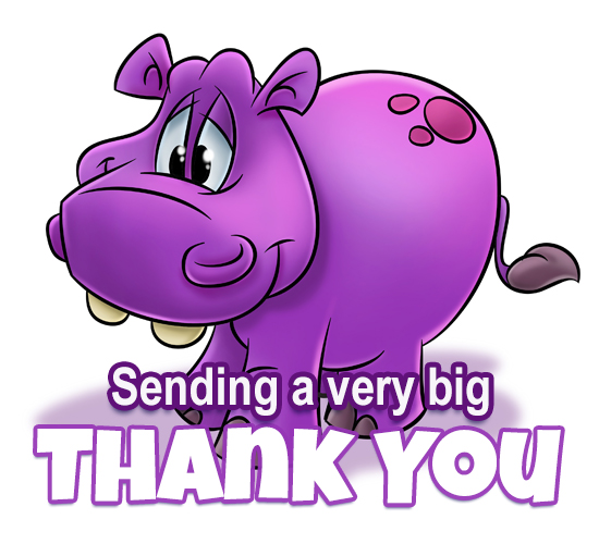 Hippo Thank You...