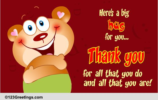 Thank You For All That You Do Free Inspirational Ecards