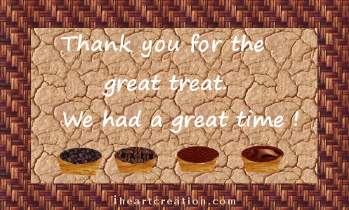 Thanks for the treat free invitations ecards greeting cards 123 customize and send this ecard thanks for the treat m4hsunfo