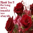 Thanks To You, My Beautiful Love!