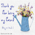 Home : Thank You : Stay in Touch - Thank You Friend.