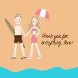 Beach Anniversary!