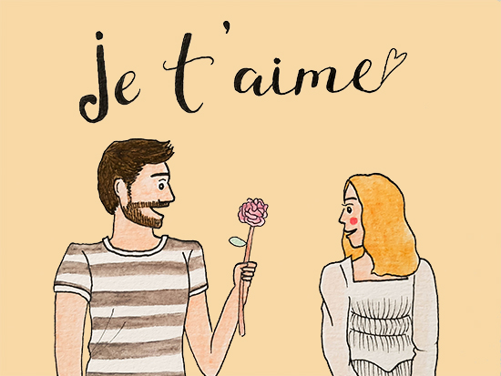 Je Taime Free Amour Ecards Greeting Cards 123 Greetings