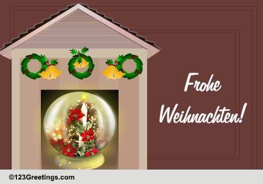 Weihnachtsgrüße Deutsch.Weihnachtsgruesse Free Feiertagszeit Ecards Greeting Cards 123