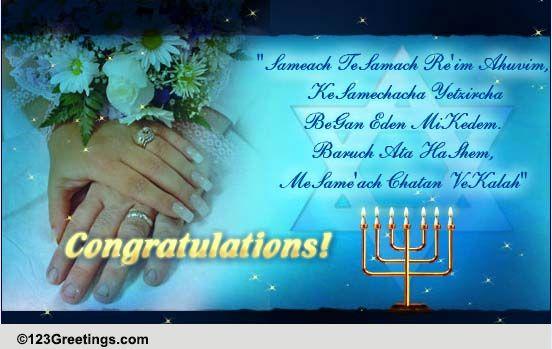 A jewish wedding wish free around the world ecards greeting a jewish wedding wish free around the world ecards greeting cards 123 greetings m4hsunfo