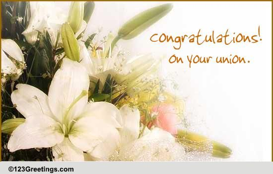 Belated Wedding Gift Message : Congratulations! Free Belated Wishes eCards, Greeting Cards 123 ...