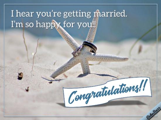 I Heard You're Getting Married!