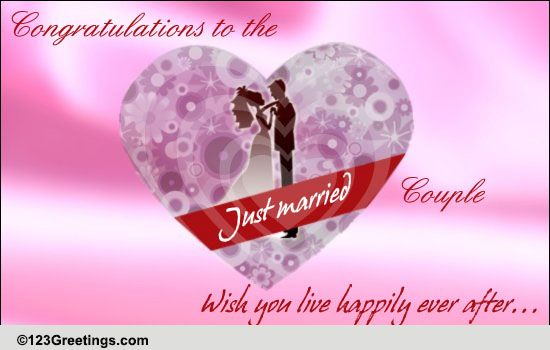 congrats  free just married ecards  greeting cards
