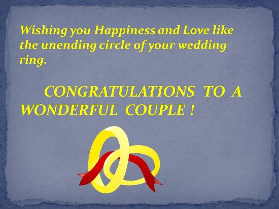 Blessings for a newly wedded couple free congratulations ecards blessings for a newly wedded couple m4hsunfo