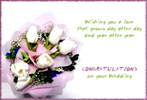 Greetings On Your Wedding Free Congratulations Ecards Greeting