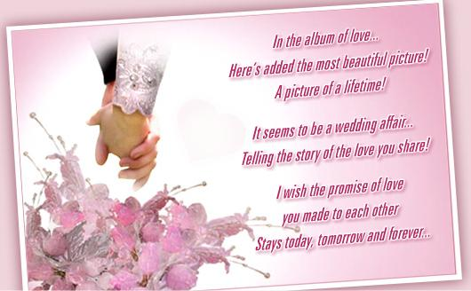 Wedding Wishes For You...