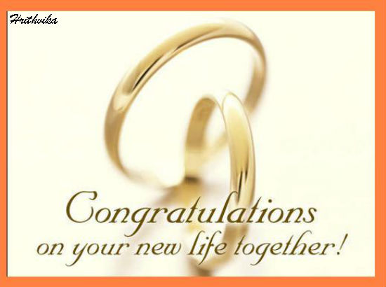 Lovely Note To Newly Weds Free Congratulations ECards