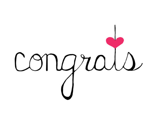Congrats - Scripted Heart. Free Congratulations eCards, Greeting Cards | 123 Greetings