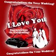 Congrats And Love On Your Wedding.