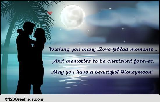 Wishing you a beautiful honeymoon free wedding etc ecards 123 wishing you a beautiful honeymoon free wedding etc ecards 123 greetings m4hsunfo