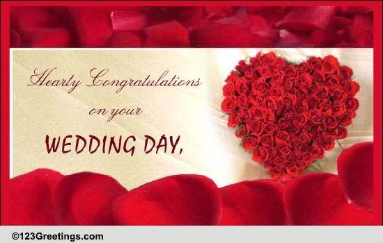 Wedding Congratulations Free Wedding Etc ECards Greeting Cards