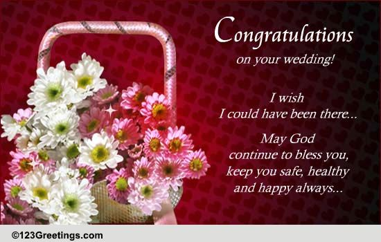 Congratulations Amp Best Wishes Free Wedding Etc Ecards