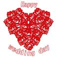 Wedding Greetings With All Your Heart!