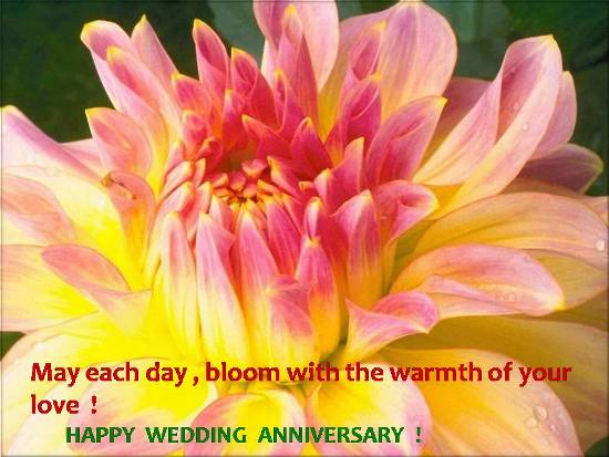 Greetings For Wedding Anniversary.