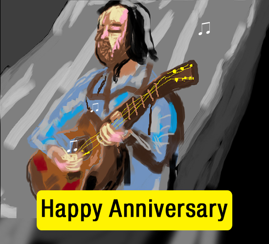 Happy Anniversary Guitar...