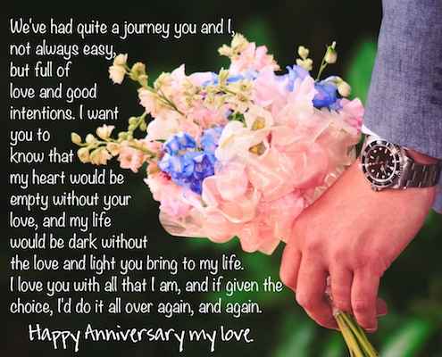 Happy Anniversary My Love.