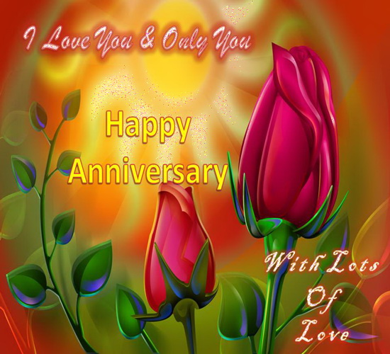 Anniversary Greeting Card.