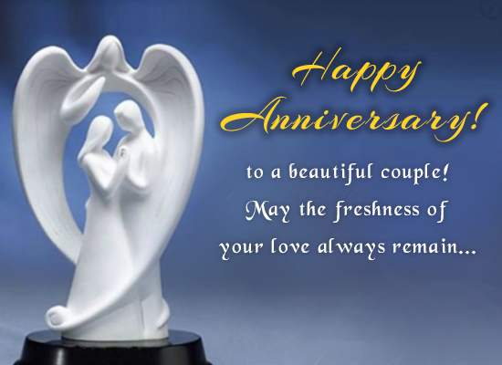 Happy Anniversary! God Bless You!