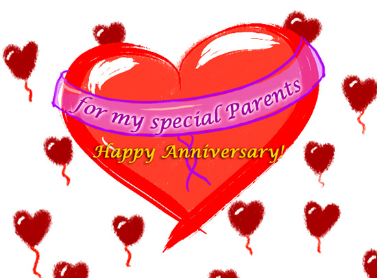 Love Balloons For Special Parents.