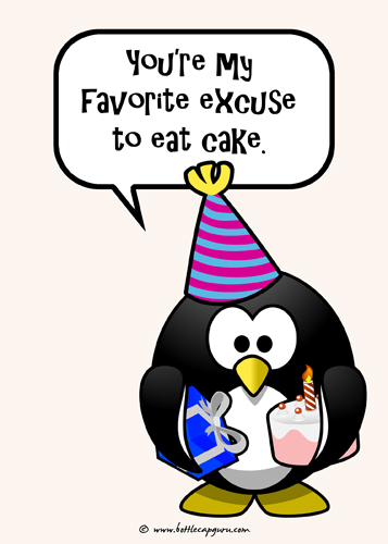 My Favorite Excuse To Eat Cake.