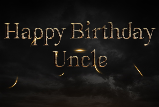 Uncle Happy Birthday Greetings